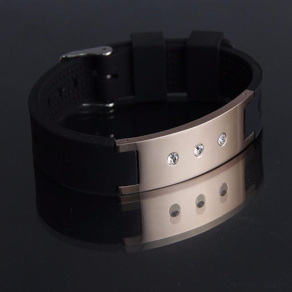 Fashionable Magnetic Negative Ion (IRT) Therapy Bracelet for Ladies (NIB20016)