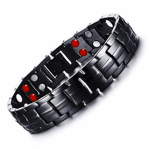Stylish Punk Bio-Energy Magnetic Therapy Bracelet G4 Series For Men (SBRM087)