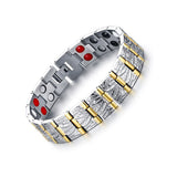 Stylish Titanium Bio-Energy Magnetic Therapy Bracelet for Men (TBRM032)