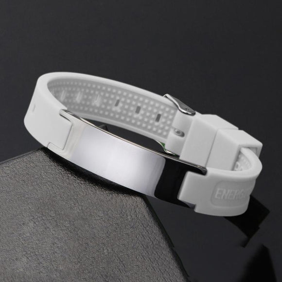 Fashionable Magnetic Negative Ion (IRT) Therapy Bracelet (NIB20001)