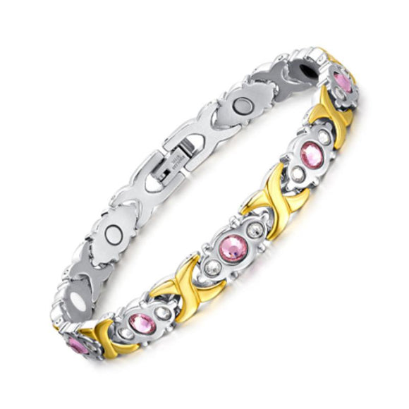 Fashionable Magnetic and Germanium Therapy Bracelet for Women (SBRM074)