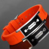 Fashionable Magnetic Negative Ion (IRT) Therapy Bracelet for Men (NIB20009)