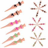 Awesome 6pcs Racy Bikini Lady Golf Tees
