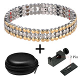 Enthralling Bio Energy Medical Healing Magnetic Therapy Bracelet for Men and Women (SBRM10255-10267)