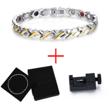 Fashionable Magnetic and Germanium Therapy Bracelet for Women (SBRM051)