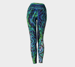 Hannah Stone Original Art Abalone Leggings