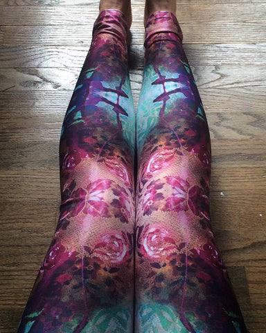 Hannah Stone Original Art Anndrias Leggings
