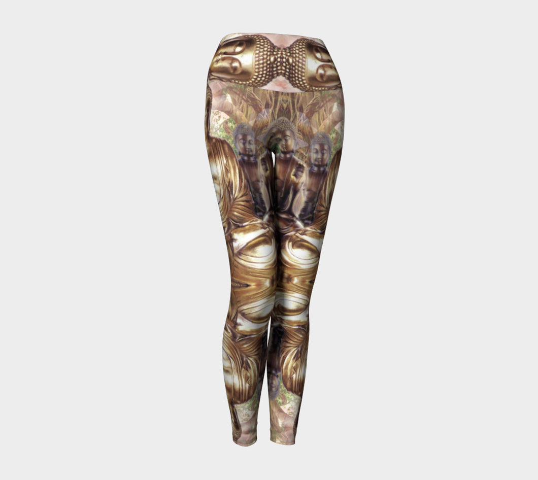 Hannah Stone Original Art Buddha Leggings