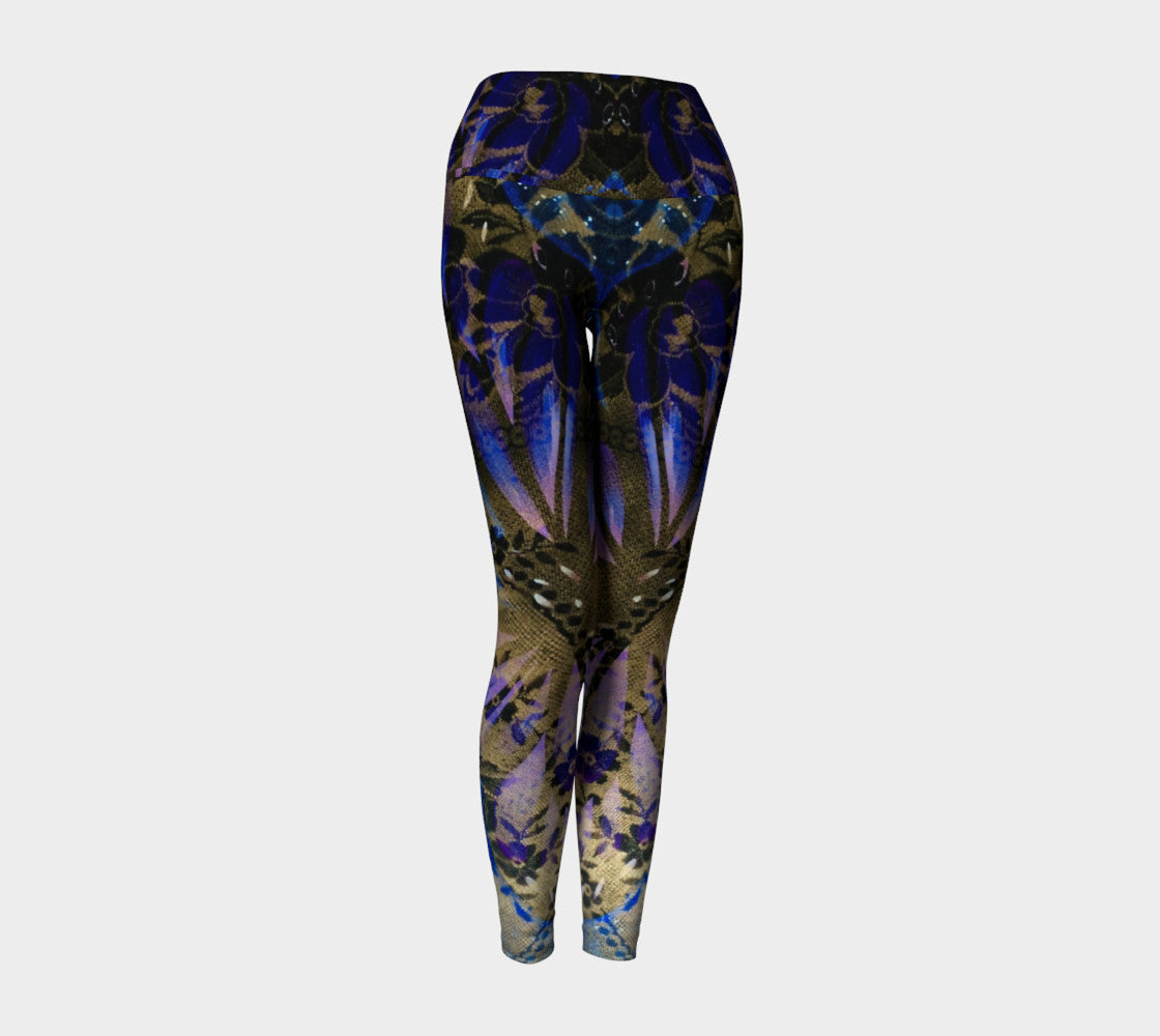 Hannah Stone Original Art Butterfly Leggings