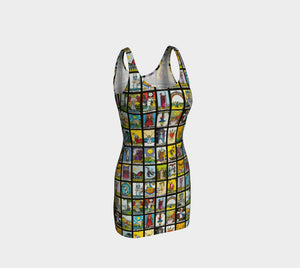 Joanne Queen of Tarot Bodycon Dress