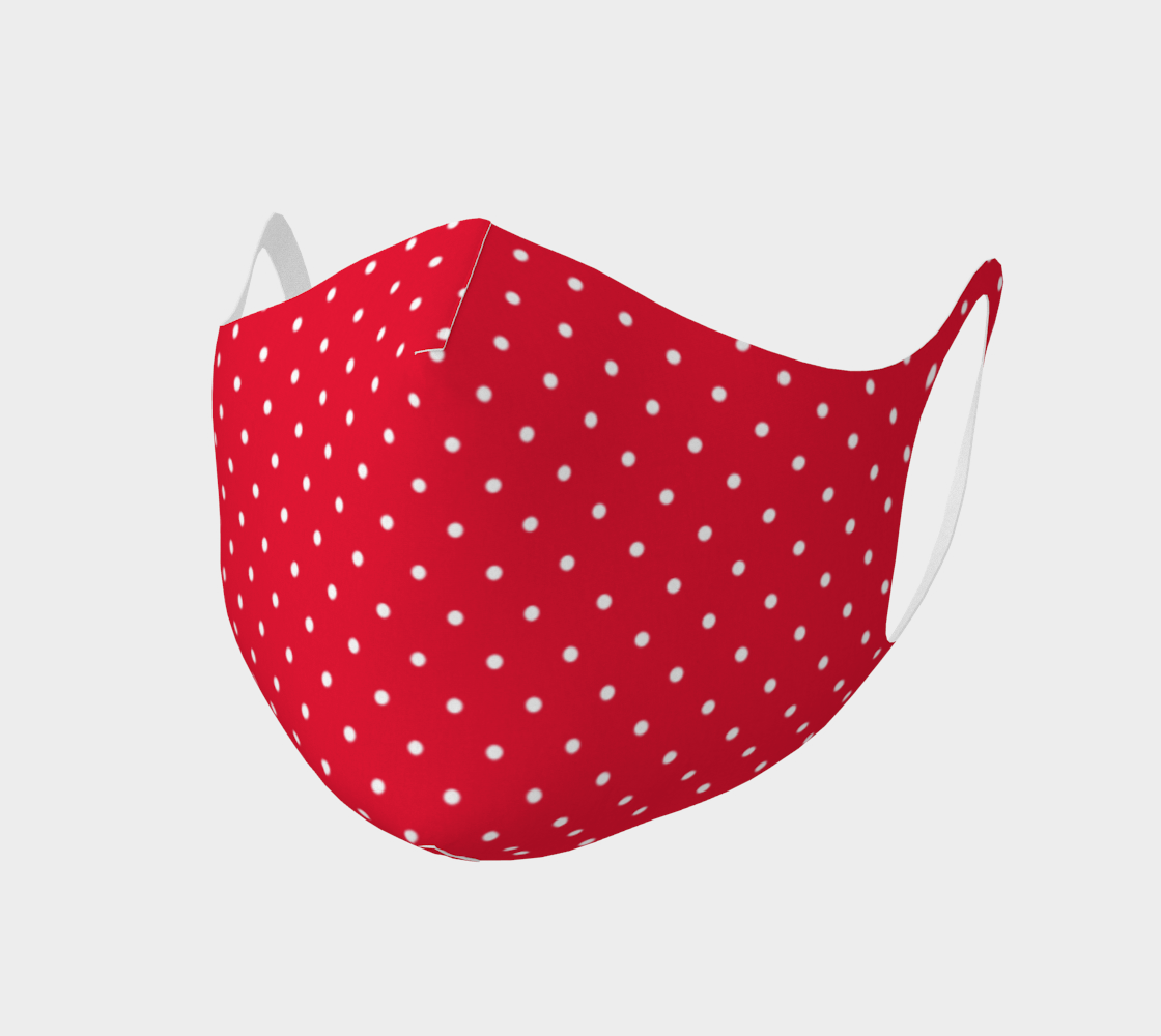 Hot Rod Red Polka Dot