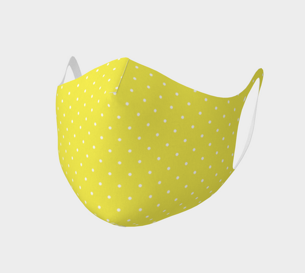 Lemon Yellow Polka Dot