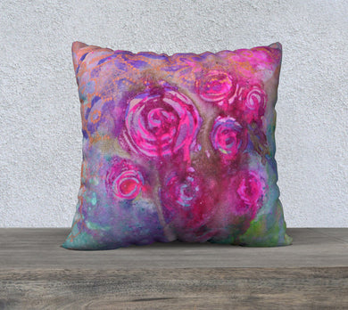 JESSICA 1 Velveteen Pillow