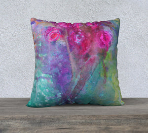 JESSICA 2 Velveteen Pillow
