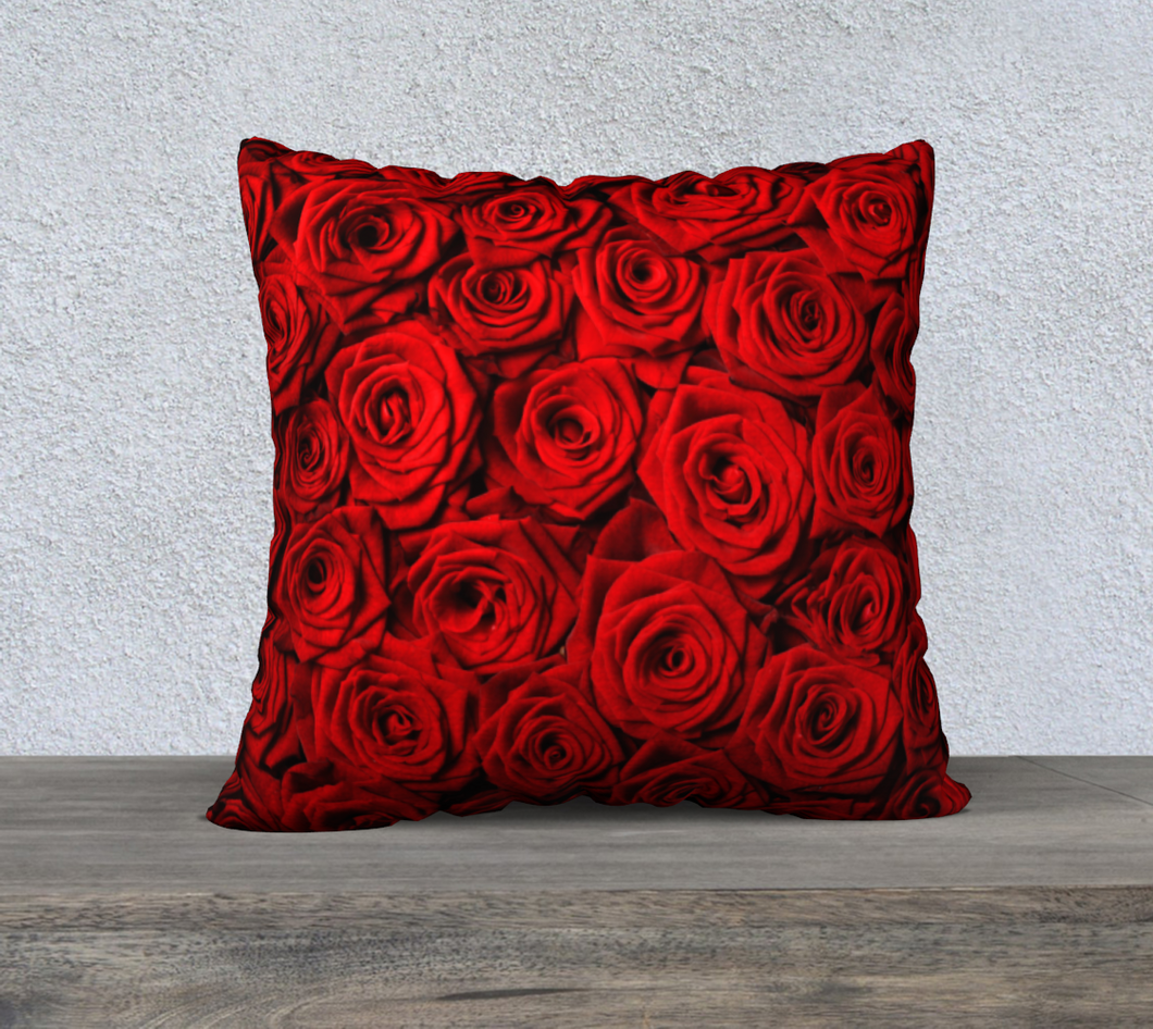 ROSE Velveteen Pillow