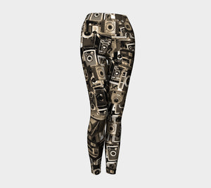 Hannah Stone Original Art Vintage Camera Leggings