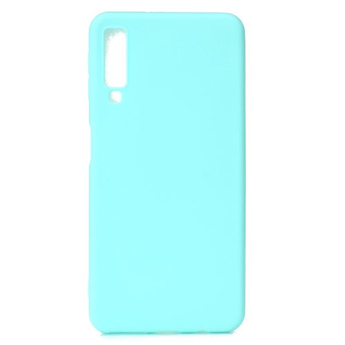 HUSA TECH SOFT FROSTED TPU SAMSUNG GALAXY A7 2018, BABY BLUE