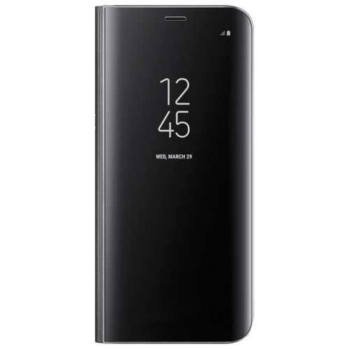 Husa Clearview, Black, Samsung Galaxy J3 PRO-Guardo.shop
