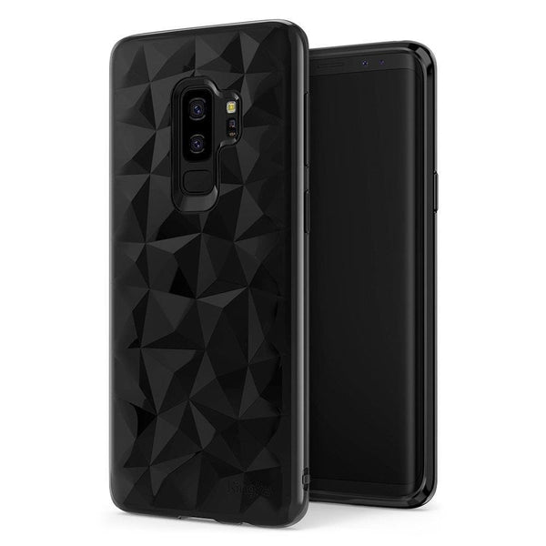 Husa Ringke Air Prism Ultra-Thin 3D Cover Gel Tpu Case Pentru Samsung Galaxy S9 Plus G965 Black (Apsg0023-Rpkg)