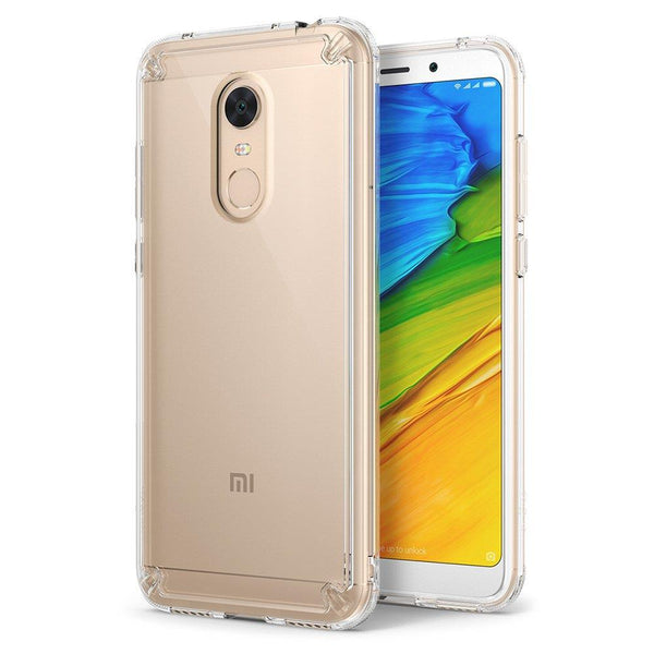 Husa Ringke Fusion Pc Case With Tpu Bumper Pentru Xiaomi Redmi 5 Plus / Redmi Note 5 (Single Camera) Transparent (Rfxi009-Rpkg)