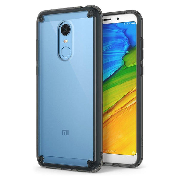 Husa Ringke Fusion Pc Case With Tpu Bumper Pentru Xiaomi Redmi 5 Plus / Redmi Note 5 (Single Camera) Black (Rfxi010-Rpkg)
