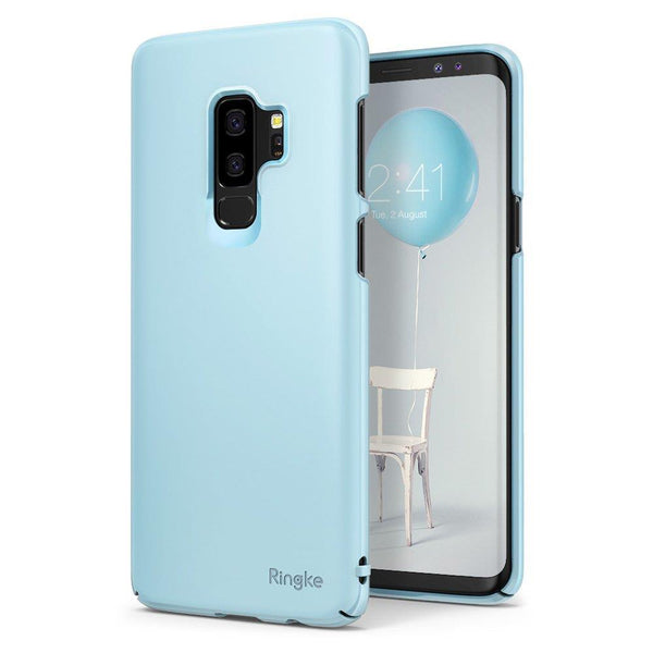 Husa Ringke Slim Ultra-Thin Cover Pc Case Pentru Samsung Galaxy S9 Plus G965 Blue (Slsg0039-Rpkg)