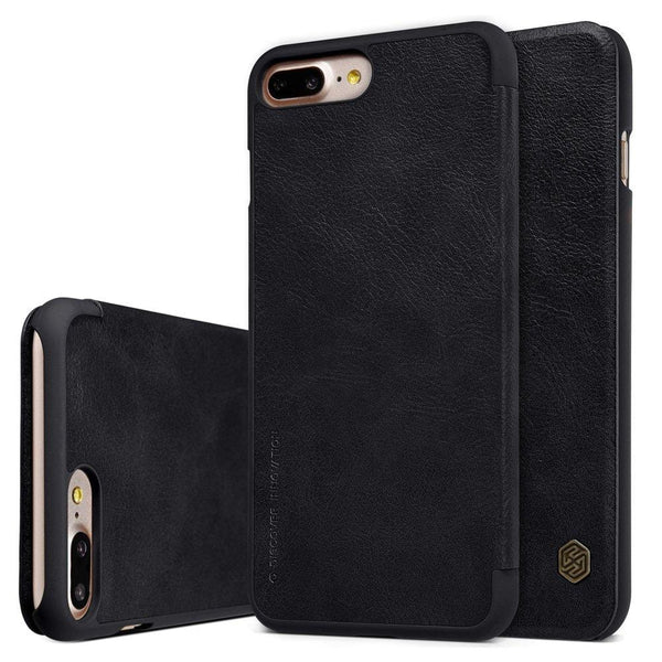 Husa Nillkin Qin Leather pentru  iPhone 8 Plus / 7 Plus black