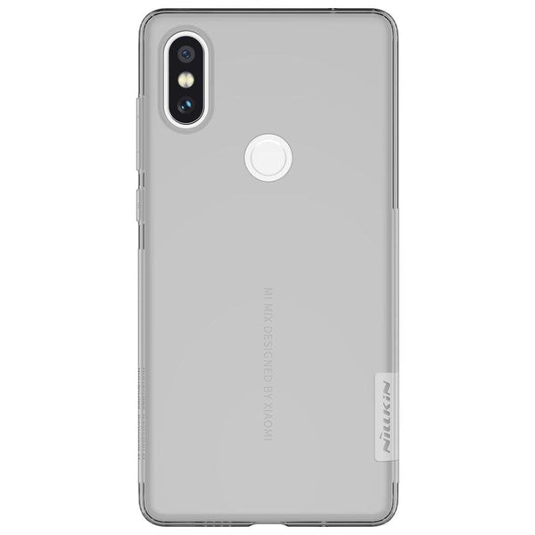Husa Nillkin Nature Gel TPU Ultra Slim pentru Xiaomi Mi Mix 2S grey