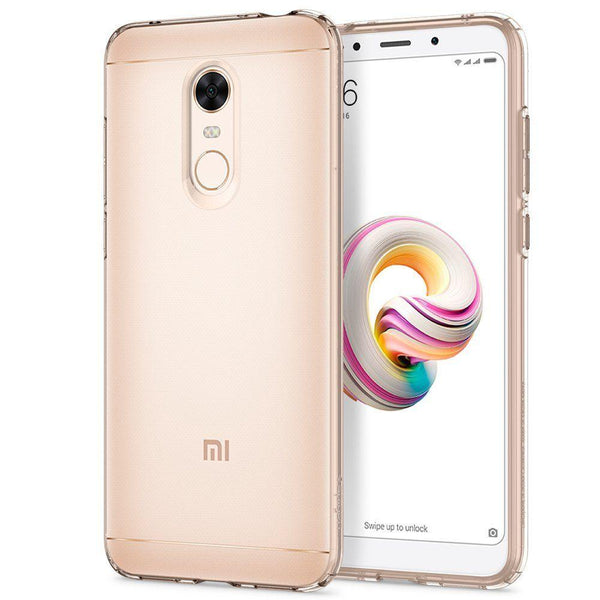 Husa Spigen Liquid Crystal pentru Xiaomi Redmi 5 Plus / Redmi Note 5 (single camera) transparent (Crystal Clear)