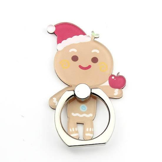Suport Inel Xmas Ring Gingerbread Christmas Pentru Smartphone