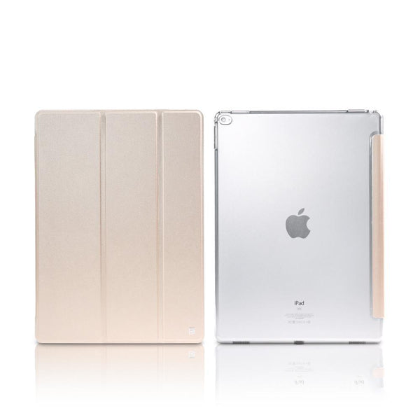 Suport Remax Jane Tablet Cover cu stand reglabil si functie Smart Sleep iPad Mini 4 gold