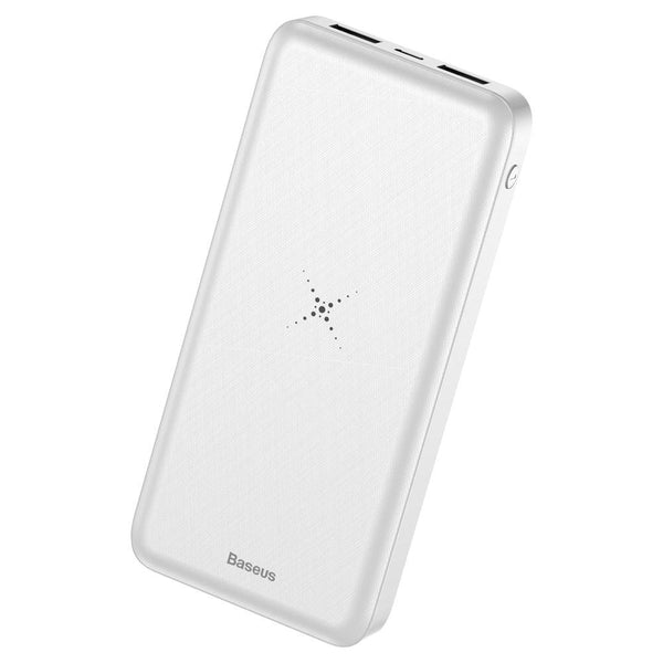 Powerbank Baseus M36 Wireless Charger Qi 10000 mAh with Wireless Charging white (PPALL-M3602)