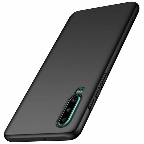 Husa Msvii Simple Ultra-Subtire Cover Huawei P30 Black