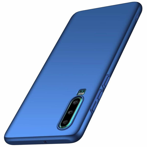 Husa Msvii Simple Ultra-Subtire Cover Huawei P30 Blue