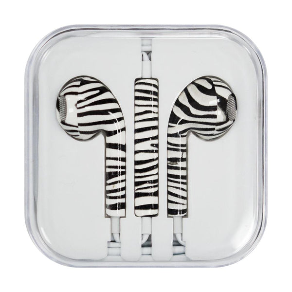 Casti Cu Microfon Iphone Ipad Ipod Zebra (Style 1)