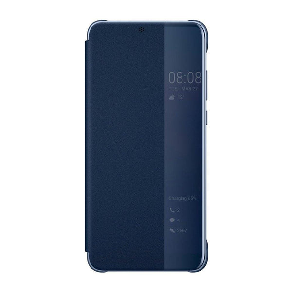 Husa Huawei Smart View Flip Cover Bookcase Huawei P20 Pro Blue (51992368) Ex-Display