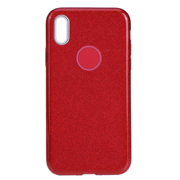 HUSA GLITTER 3IN1 NOKIA 7.1 2018, RED
