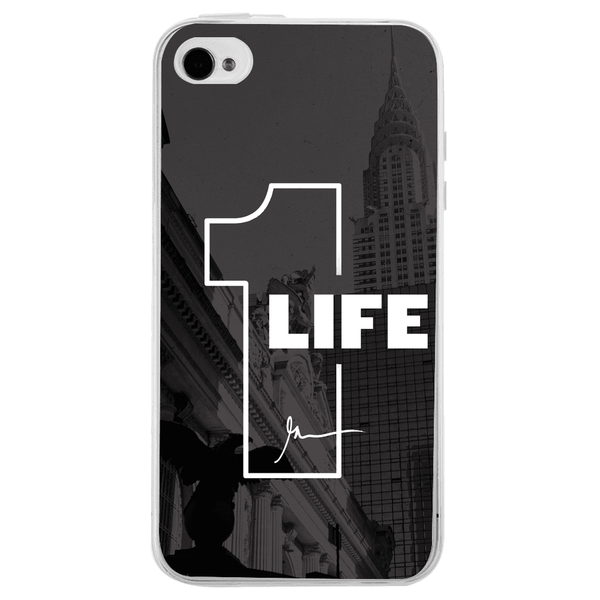 Husă 1 Life APPLE Iphone 4s-Husa-Guardo.shop