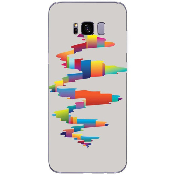 Husă Abstract Color Illusion Curved Line SAMSUNG Galaxy S8 Plus-Guardo.shop-Guardo.shop