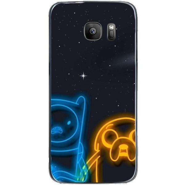 Husă Adventure Time Neon SAMSUNG Galaxy S7-Guardo.shop-Guardo.shop
