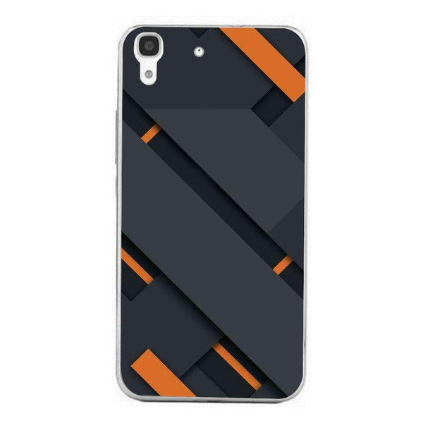 Husă Black And Orange HUAWEI Y6 Ii-Guardo.shop-Guardo.shop