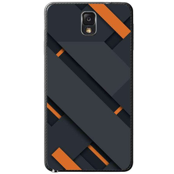Husă Black And Orange SAMSUNG Galaxy Note 3 - Guardo - Guardo,
