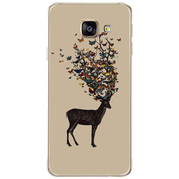 Husă Butterfly Deer SAMSUNG Galaxy A3 2016-Guardo.shop-Guardo.shop