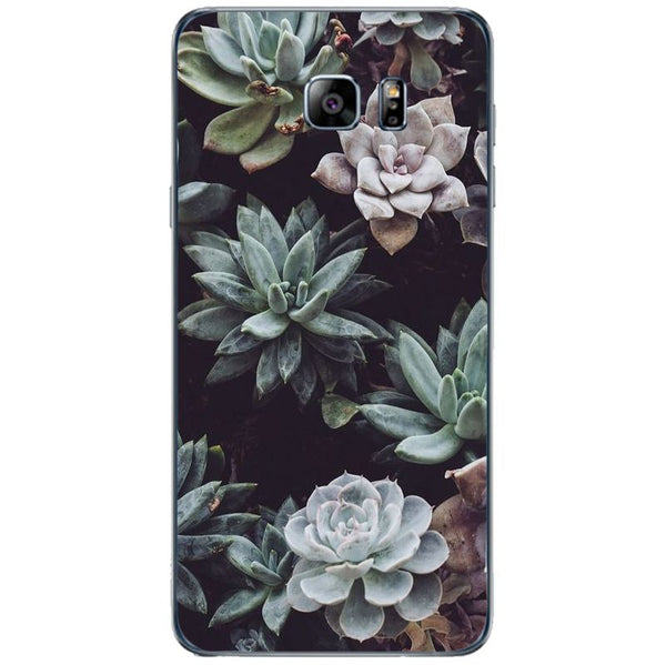 Husă Cacti Flowers Background SAMSUNG Galaxy Note 5-Guardo.shop-Guardo.shop