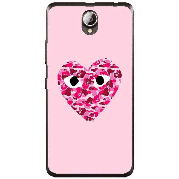 Husă Camo Heart Lenovo A5000-Husa-Guardo.shop