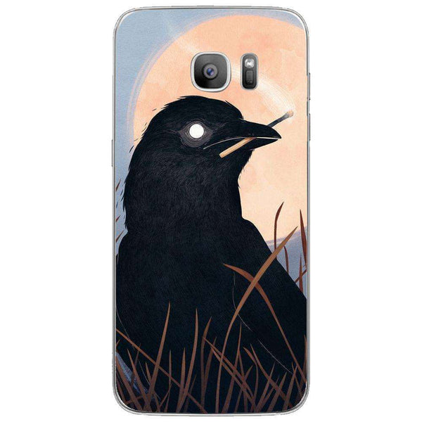 Husă Crow SAMSUNG Galaxy S7 Edge-Guardo.shop-Guardo.shop