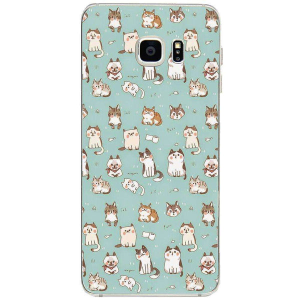 Husă Cute Cats Pattern SAMSUNG Galaxy S6 Edge Plus-Guardo.shop-Guardo.shop