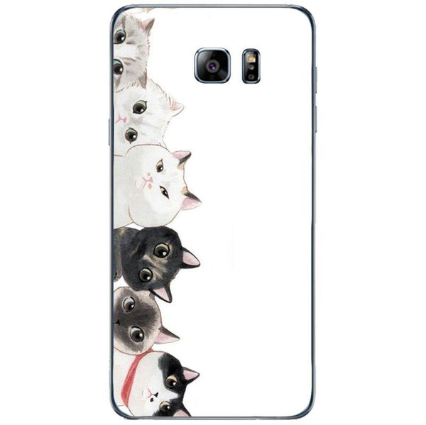 Husă Cute Couple Cats SAMSUNG Galaxy Note 5-Guardo.shop-Guardo.shop