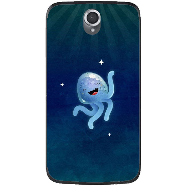 Husă Cute Jellyfish Lenovo A859-Husa-Guardo.shop