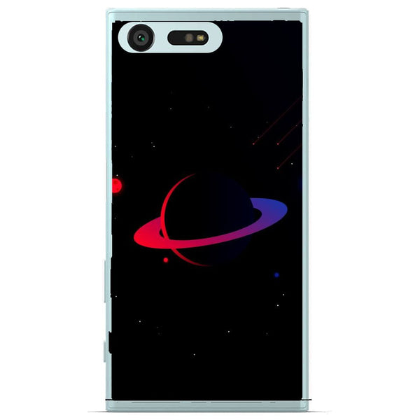 Husă Dark Red Planet Sony Xperia X Compact-Husa-Guardo.shop